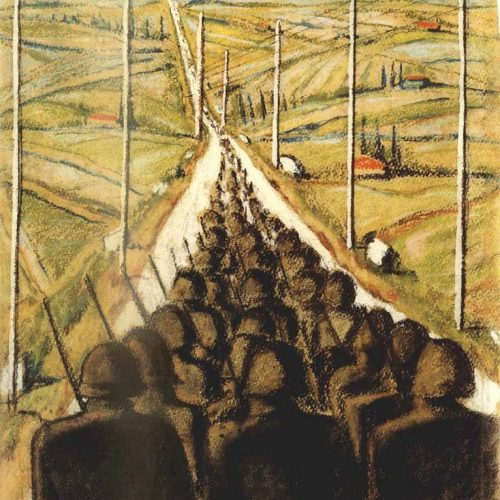 """1948: """"אמנות עברית-ארצישראלית המוליכה אל המחר"""""""