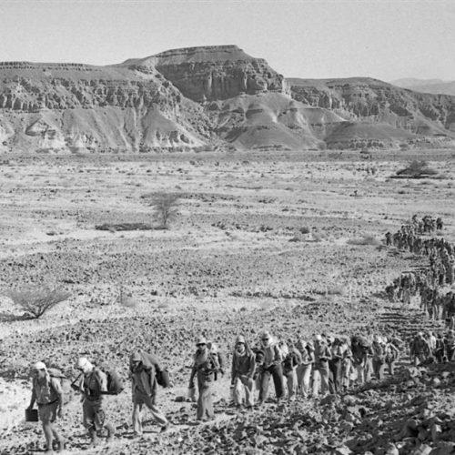 עזריה אלון: שבילים במדבר