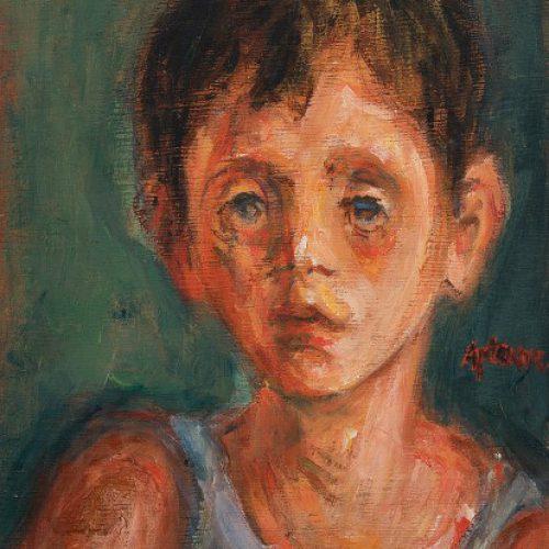 חיים אתר דויוקן גולדברג 1940 אוסף המשכן לאמנות עין חרוד